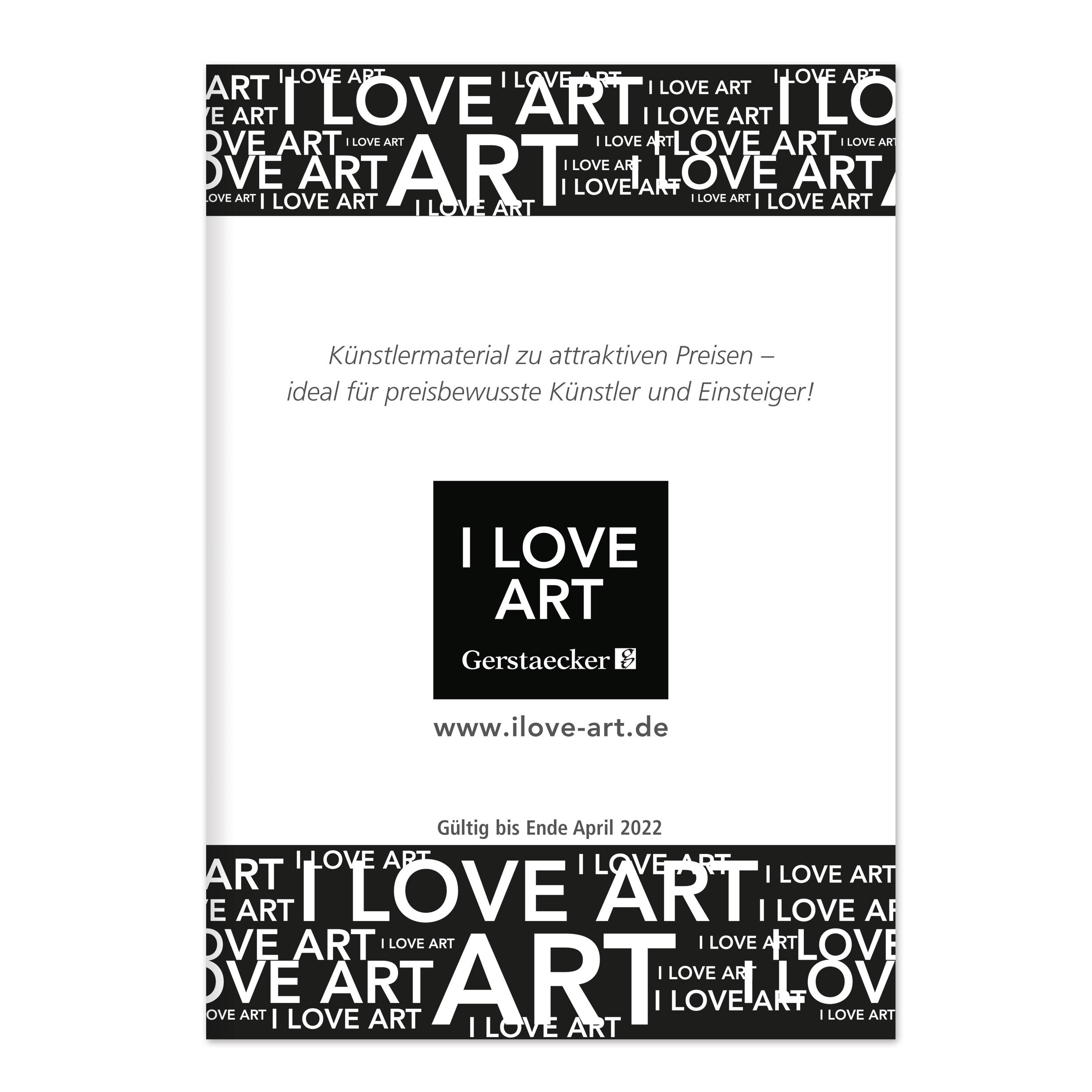 I LOVE ART Broschüre 2021 - jetzt bestellen!