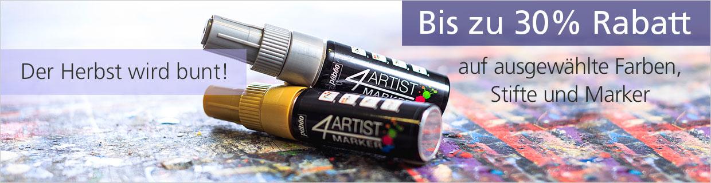 30 % auf ausgewählte Farben Stifte und Marker