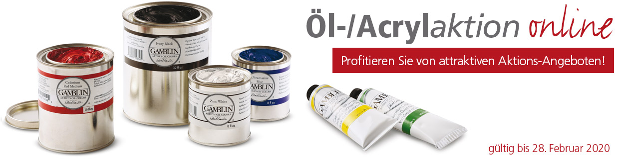 Öl Acrylaktion 2020